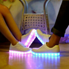 Adults Men Women Light Up Shoes LED Flashing Trainers Casual 1pair Sneakers E5I2