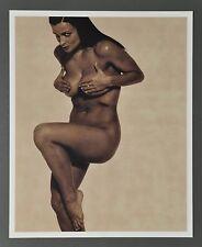 Karl Lagerfeld Limited Edition Photo Print 29x36 Lisa Marie 1997 Nude B&W SW Art