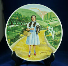 """1977 Knowles """"Over The Rainbow"""" Limited Edition Collectable Plate #12592E, Vgc"""