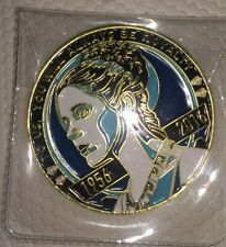 Star Wars Celebration Princess Leia Carrie Fisher Memorial 2016 Coin Gold 1.75""