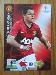 Javier Hernandez of Manchester United Champions League 2012/13 base card