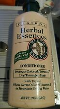 Herbal Essences Conditioner protects colored/permed/dry/damaged hair