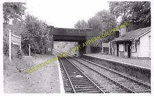 Charlton Kings Railway Station Photo. Cheltenham - Andoversford. GWR. (3)