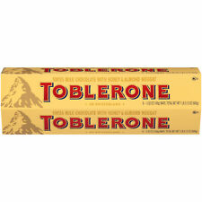 Toblerone Swiss Milk Chocolate 6 Bars 3.52 OZ ( 100g) Bar FREE SHIPPING!!!