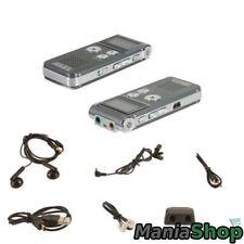 MINI REGISTRATORE DIGITALE 8 GB USB VOCALE SPIA VOX RICARICABILE PER UNIVERSITA'