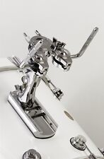 DW Hardware : Bass Drum Double Tom Mount - Chrome