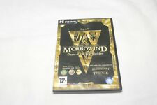 PC GAME. ELDER SCROLLS 3 MORROWIND GAME OF THE YEAR EDITION (PC/DVD) GOTY