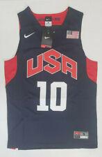 New Kobe Bryant Men's Jersey 2012 London Olympics Team Usa Nwt - Blue # 10