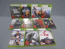 11 x XBOX 360 Spielesammlung - Action + Sport + Kampf - 11x XBOX 360 Spiele
