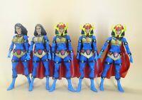 "lot of 5 DC Universe Classics   Wave 7 Big Barda action figure loose 6"" #h6"