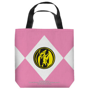 """Power Ranger """"Pink Ranger -Kimberly""""  16 in x 16 in Tote Bag - New"""