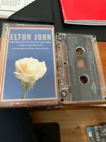 ELTON JOHN Something About The Way You Look Tonight  Cassingle Cassette Tape