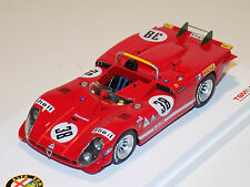 1/43 True Scale Models TSM Alfa Romeo Tipo 33/3 car #38 1970 Le Mans TSM124311