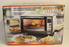 BEEM Cucinetta, Infrarot-Ofen, Backofen, Edelstahl  (2.Wahl/B-Ware)