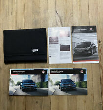 13-17 VAUXHALL INSIGNIA OWNERS HANDBOOK MANUAL + INFOTAINMENT + WALLET 15 R5510