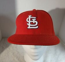New Era 59Fifty St. Louis Cardinals Official On-Field Cap Cool Base Red 7 3/8