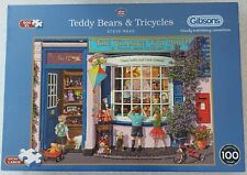 Gibsons Teddy Bear & Tricycles Jigsaw Puzzle (500XL)