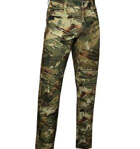 Under Armour 1355314 Men's UA Hardwoods STR 4-Way Stretch Durable Hunting Pants