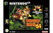 N64/nintendo 64-donkey kong 64 without expansion pak in packaging used