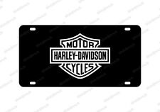 Harley Davidson License Plate Acrylic Any Car Tag Motorcycle Touring Sportst