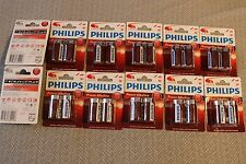 24 NEW PHILIPS Power ALKALINE C SIZE BATTERIES 12 2 Pack Battery 8712581651046