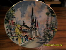 New Orleans French Quarter Dong Kingman Ltd Ed Collector Plate 10 Inch