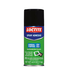 Loctite Multi Purpose Spray Adhesive 4oz. Acid Free Photo Safe Paper Fabric Foil