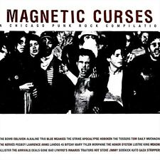"""""""MAGNETIC CURSES"""" Chicago Punk Rock Compilation (CD 2000) Thick 26-Tracks **VG**"""