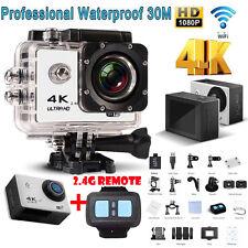 4K HD1080P WIFI wasserdichte Mini Sport Camera DV Action Kamera Fernbedienung DE