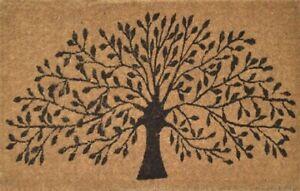 New Willow Tree Door Entrance Mat 50cm x 80cm Doormat thick