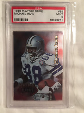 1995 Michael Irvin Playoff Prime football card #88 PSA 9 MINT POP 1