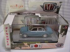 M2 Machines 1969 NISSAN BLUEBIRD 1600 SSS∞blue/black∞Auto-JAPAN∞JPN01∞17-68∞1/64
