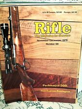 RIFLE 11/12 1979~HALL VARMINT ACTION~375 EXP~RUGER REDHAWK 44~MAUSER EXTRACTORS