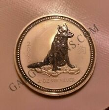 Monedas de plata 2 oz