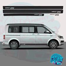 Sides Back Stripes Stickers Kit Fit VW T5 TRANSPORTER SWB Camper Van 3m Vinyl