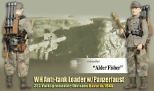 "Dragon WWII 1/6 scale 12"" German Anti-Tank Loader Grenadier Alder Fisher 70756"