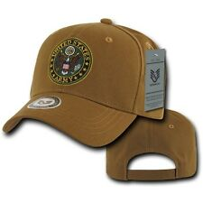 f120769fbde0e Coyote Brown United States Army Logo Military Cotton Baseball Cap Hat Caps  Hats
