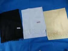 *US SELLER*lot of 12 Solid color pashmina scarves shawl wrap stole