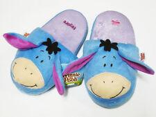Eeyore Blue Slippers Shoes #E Disney Winnie Pooh US Size 5-9, UK 3-7, EU 34-40