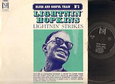 LIGHTNIN' HOPKINS Lightnin' Strikes LP Vee Jay Records LIGHTNING HOPKINS