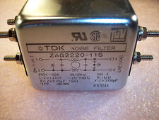 ZAG2220-11S TDK NOISE FILTER/ POWER LINE 20A 250V  NEW!!