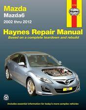 Haynes Workshop Service Repair Manual Book Mazda 6 2002-2012