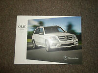 2014 MERCEDES BENZ GLK Class Sales Brochure Manual FACTORY OEM BOOK 14 DEAL