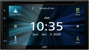 "JVC KWV66BT 6.8"" Touchscreen Bluetooth Car Digital Multimedia Receiver"