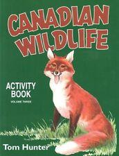 Canadian Wildlife Activity Book