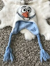Disney Unisex Winter Hat Crochet Olaf Frozen One Size