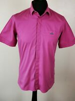 VIVIENNE WESTWOOD LONDON Pink Pink Short Sleeve Shirt size 50 (L)