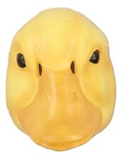 Child Duck Mask Plastic Farm Animal Costume Accessory Halloween Yellow NEW