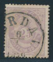NORWAY 1877, Mi. 28 used, searched single value!, fine condition, Mi. 110