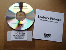 SHABAZZ PALACES - RECOLLECTIONS OF THE WRAITH - 2011 PROMO CD RARE